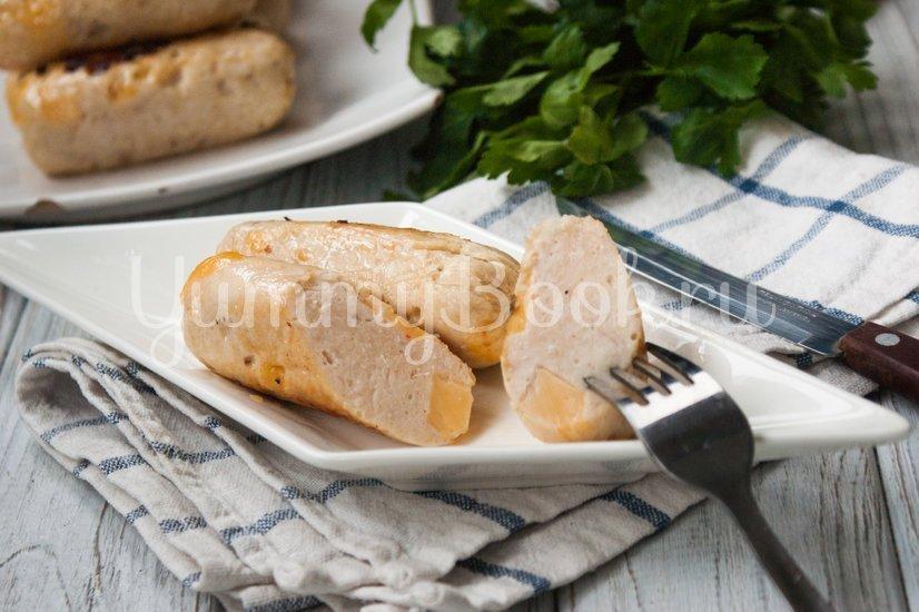 Куриные колбаски с сыром (домашние сосиски) - шаг 11