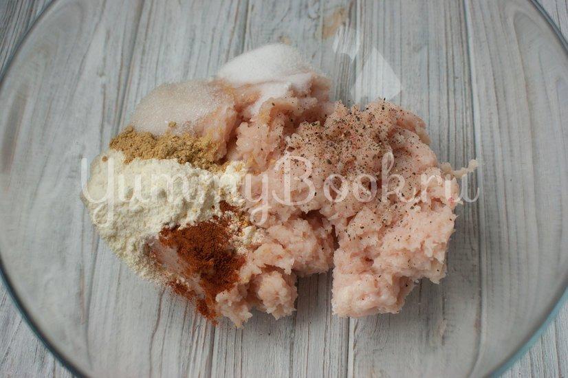 Куриные колбаски с сыром (домашние сосиски) - шаг 2