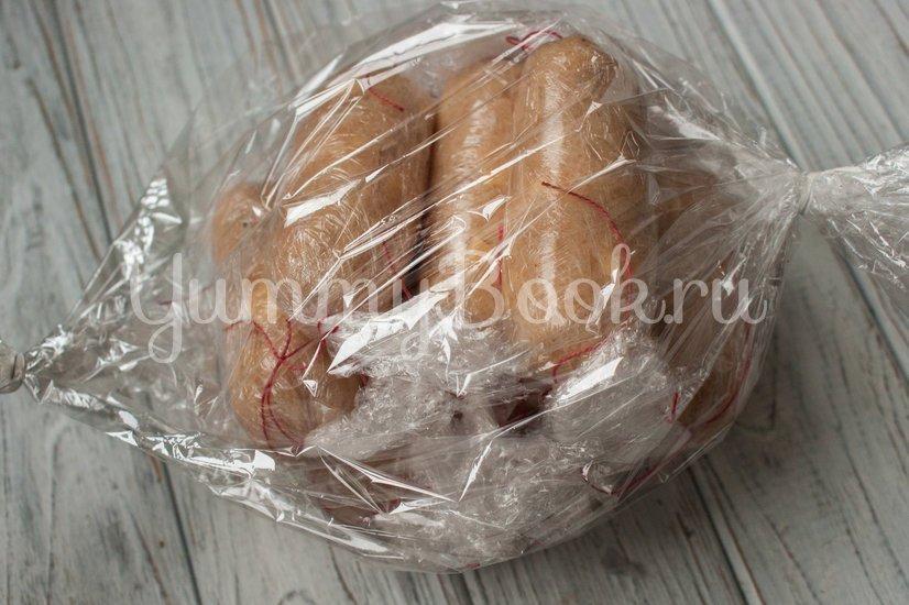 Куриные колбаски с сыром (домашние сосиски) - шаг 8