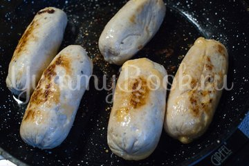 Куриные колбаски с сыром (домашние сосиски) - шаг 10
