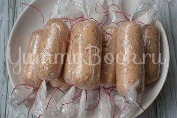 Куриные колбаски с сыром (домашние сосиски) - шаг 7