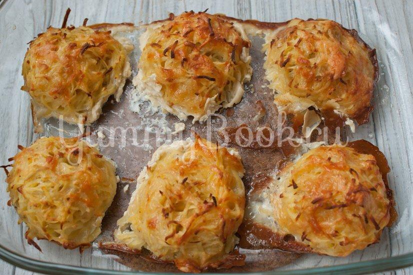 Драники с сыром в духовке - шаг 7