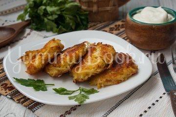 Драники с сыром в духовке - шаг 6