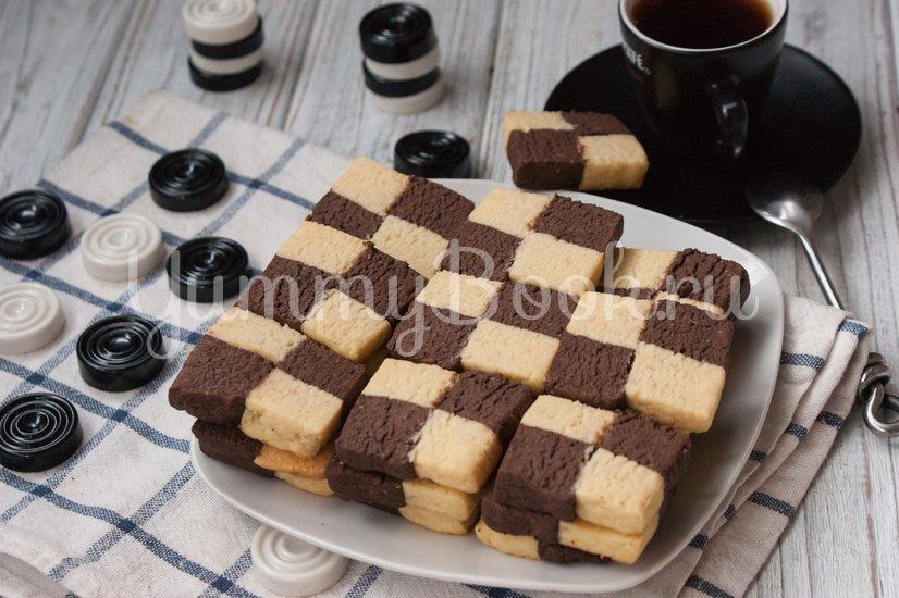 """Печенье """"Шахматная доска"""" - шаг 10"""