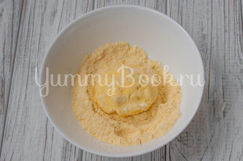 Сырники с кукурузной мукой - шаг 3