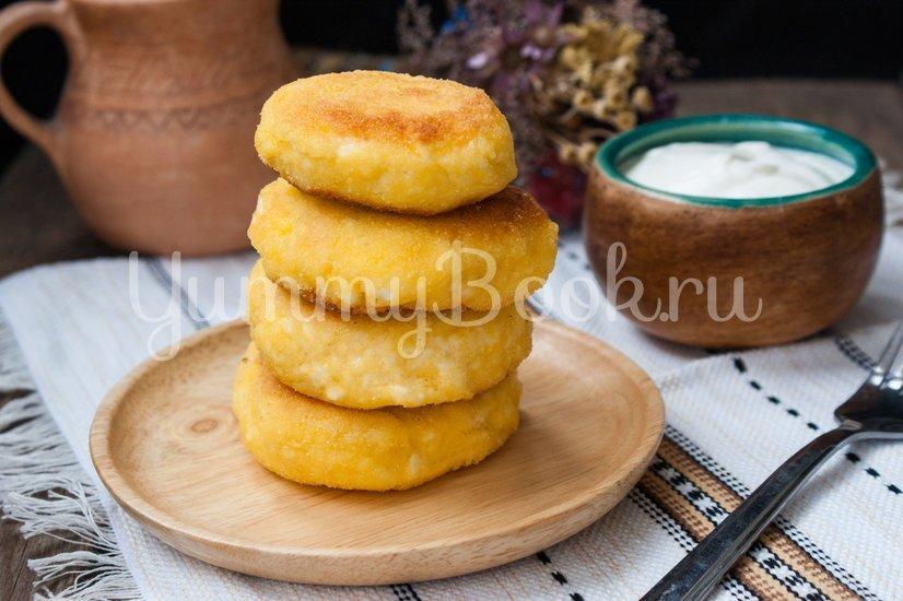 Сырники с кукурузной мукой - шаг 5