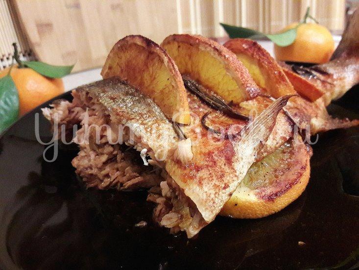 Горбуша, запечённая с розмарином в апельсиново-соевом соусе - шаг 7