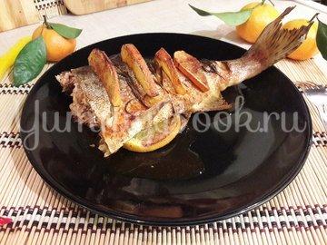Горбуша, запечённая с розмарином в апельсиново-соевом соусе - шаг 6