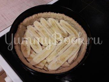 Тарт с бананами и белковым кремом - шаг 10