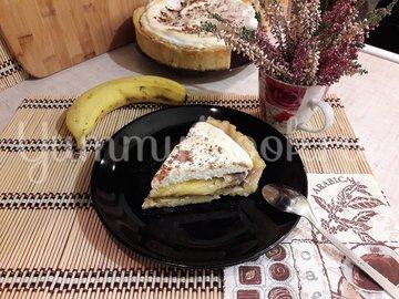 Тарт с бананами и белковым кремом - шаг 16