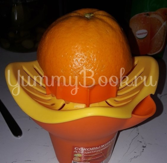 Оранжевые кексы с апельсином - шаг 1