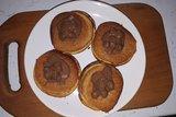 Оранжевые кексы с апельсином