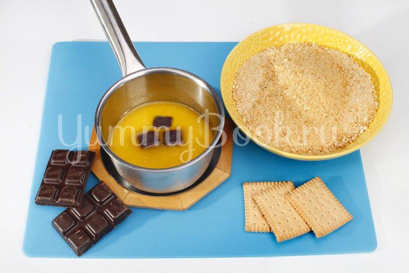 Кокосовый десерт с ягодами - шаг 1