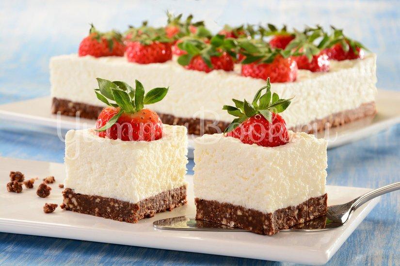 Кокосовый десерт с ягодами - шаг 7