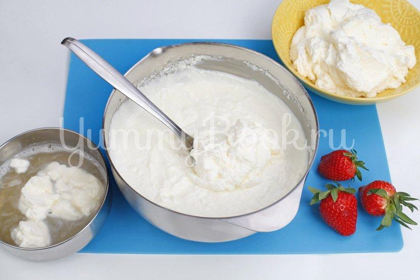 Кокосовый десерт с ягодами - шаг 4