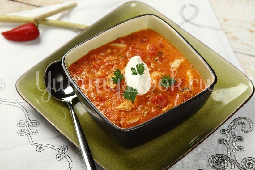 Пряный томатный суп - шаг 4