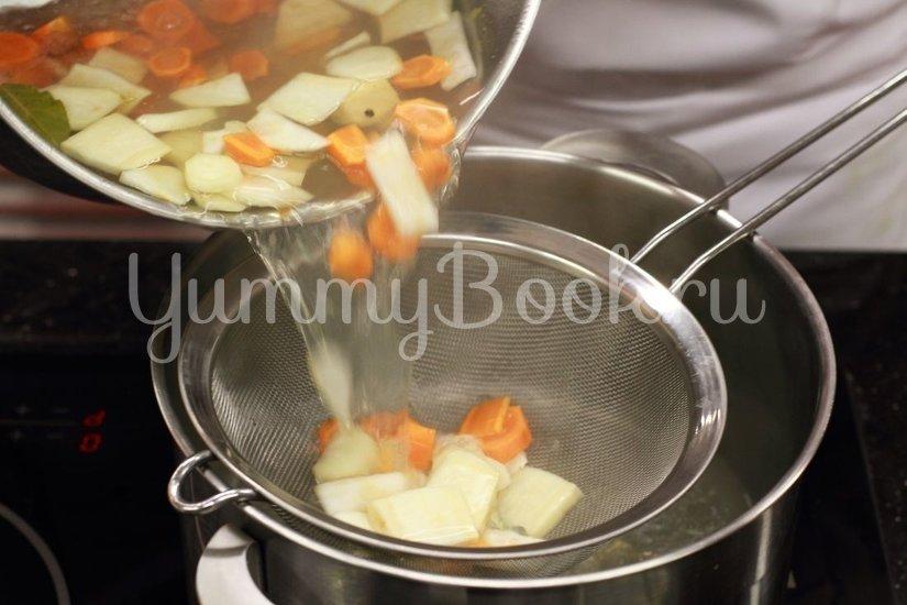 Суп с чечевицей и лососем - шаг 2