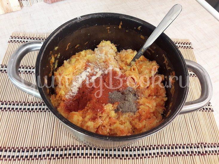 Картофельные зразы с куриным филе и морковью - шаг 5