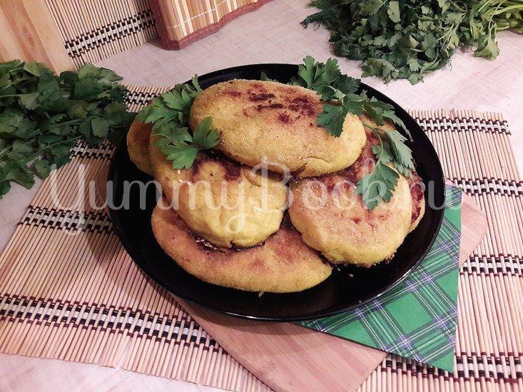 Картофельные зразы с куриным филе и морковью - шаг 15