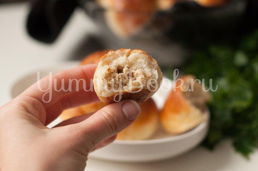Пирожки с курицей - шаг 12