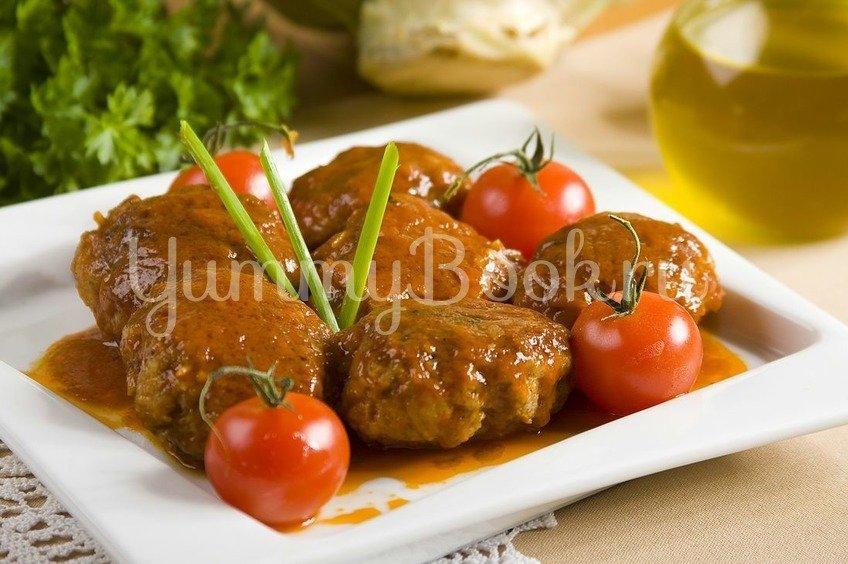 Ленивые голубцы в томатном соусе