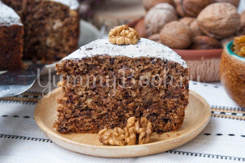 """Постный пирог """"Монастырский"""" в мультиварке"""