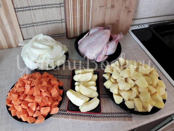 Картофель в горчице и курица в горчично-сметанном соусе - шаг 2