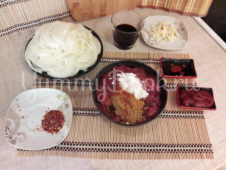 Пряная печень в азиатском стиле - шаг 3