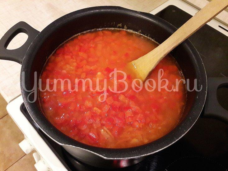 Пряный чечевичный суп с болгарским перцем - шаг 9