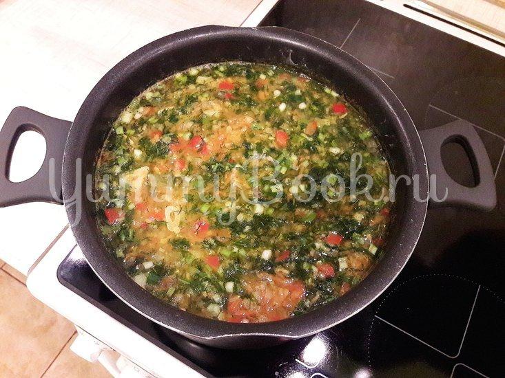 Пряный чечевичный суп с болгарским перцем - шаг 11