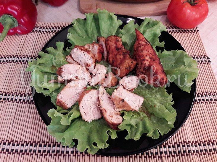 Запечённое куриное филе в томатно-соевом соусе - шаг 7