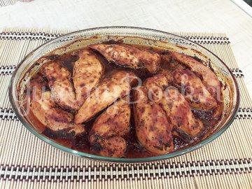 Запечённое куриное филе в томатно-соевом соусе - шаг 5