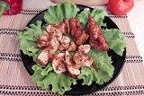 Запечённое куриное филе в томатно-соевом соусе