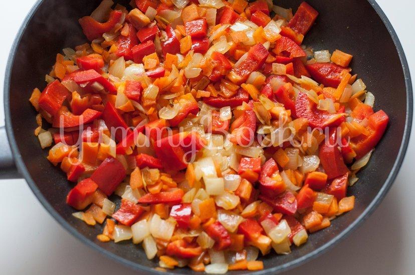Булгур с курицей и овощами - шаг 4