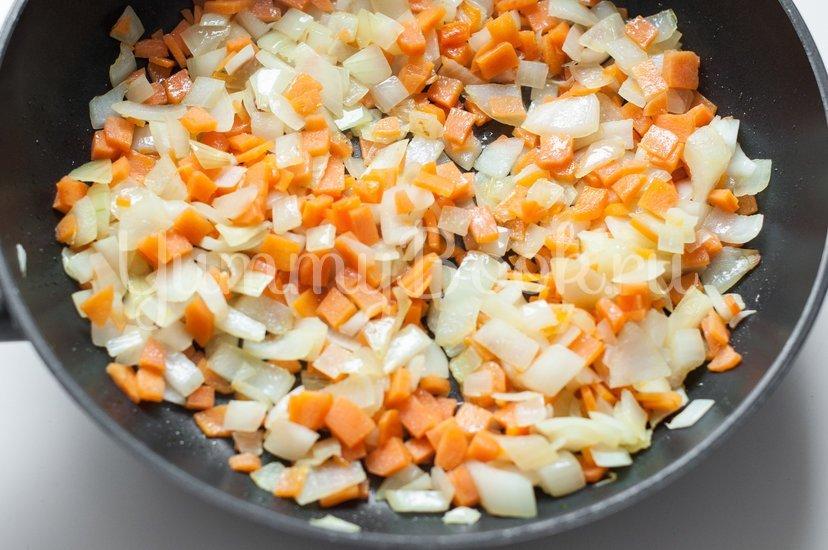 Булгур с курицей и овощами - шаг 3