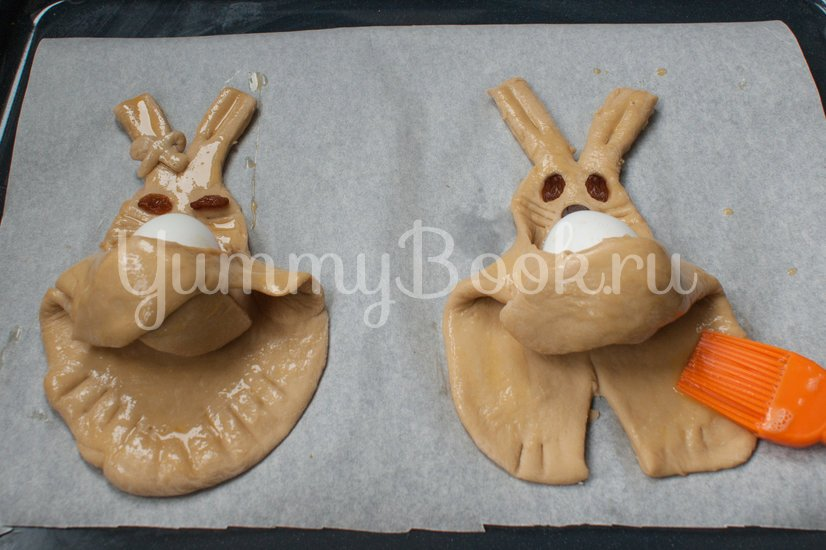 Пасхальные кролики - шаг 8