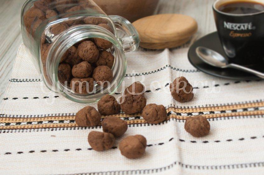 Маленькое кофейное печенье