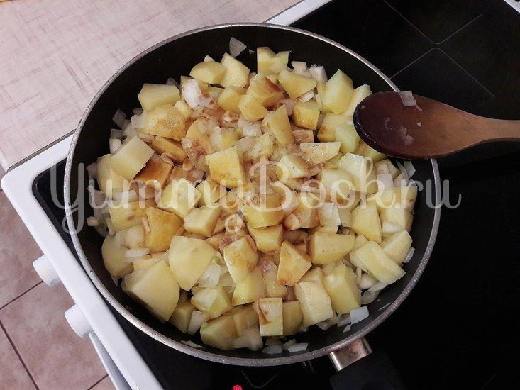 Картофель с соевым соусом и кунжутом  - шаг 5