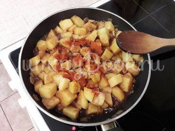 Картофель с соевым соусом и кунжутом  - шаг 6