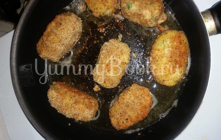 Картофельные бомбочки - шаг 10