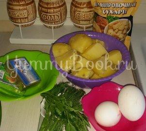 Картофельные бомбочки - шаг 1