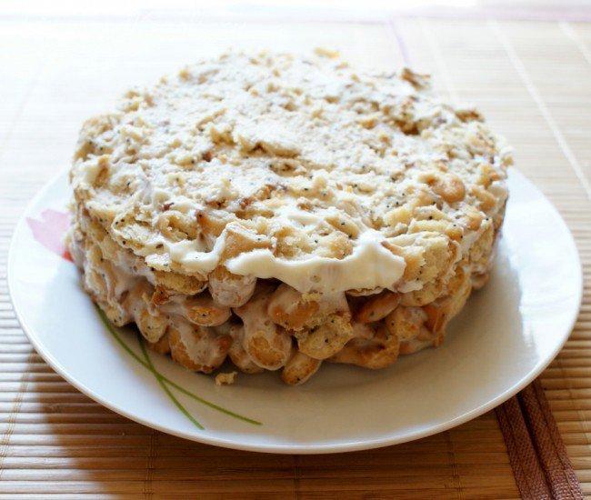 Торт из печенья Рыбки - шаг 4