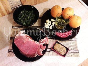 """Запечённая свинина в """"свежем"""" маринаде и соус к ней - шаг 1"""