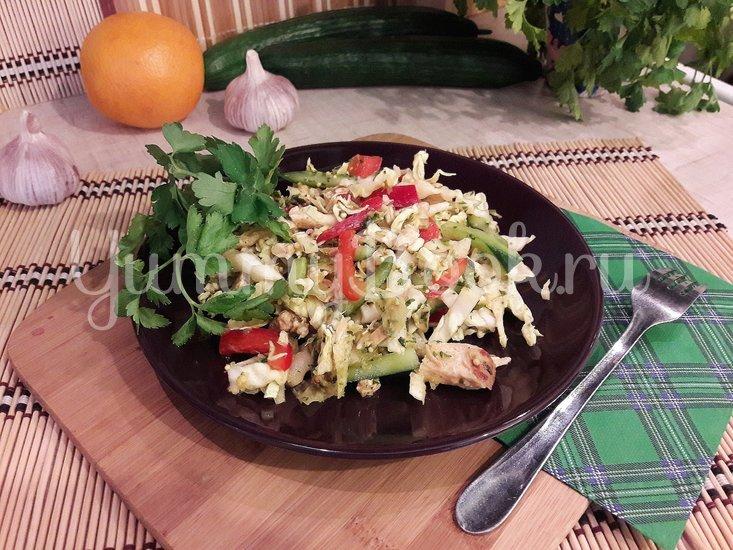 Свежий салат с нестандартной цитрусовой заправкой - шаг 11