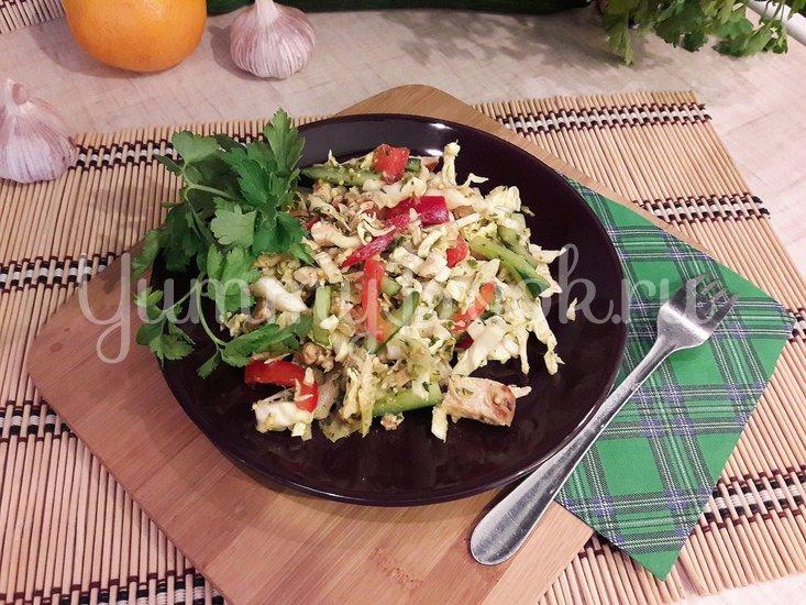 Свежий салат с нестандартной цитрусовой заправкой - шаг 10
