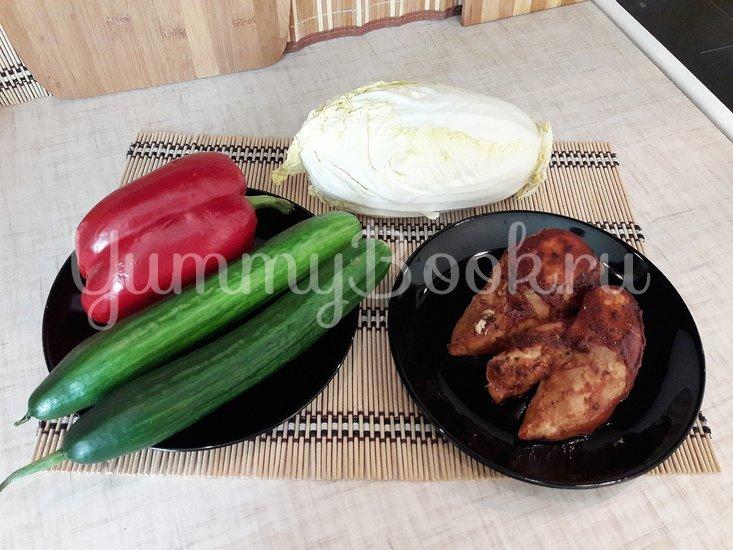 Свежий салат с нестандартной цитрусовой заправкой - шаг 8