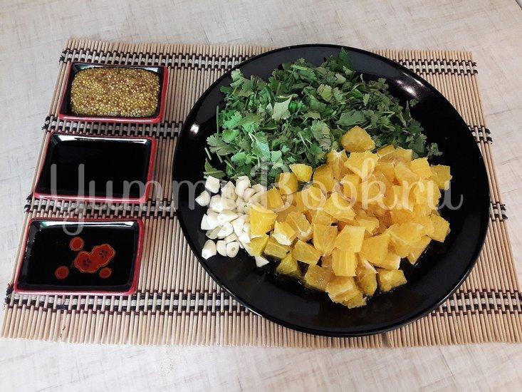 Свежий салат с нестандартной цитрусовой заправкой - шаг 5