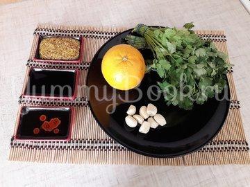 Свежий салат с нестандартной цитрусовой заправкой - шаг 4