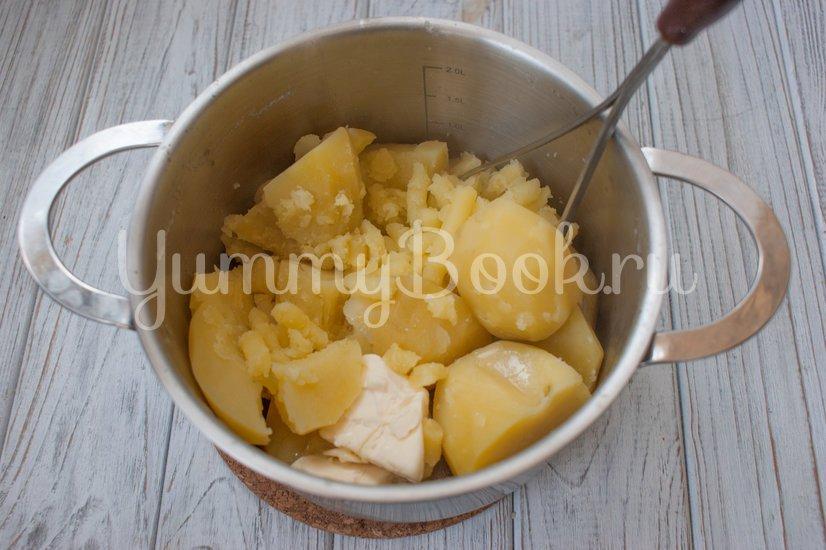 Картофельные гнёзда с начинкой - шаг 3