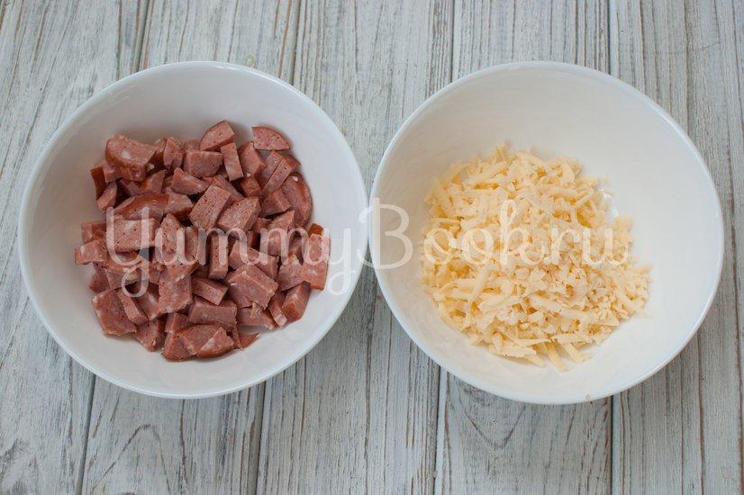 Картофельные гнёзда с начинкой - шаг 2